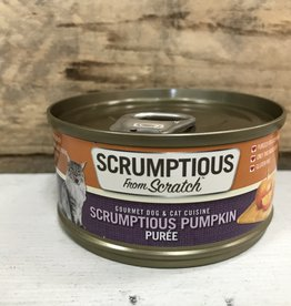 Scrumptious SCRUMPTIOUS DOG CAT PUMPKIN PUREE 2.8OZ