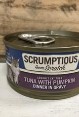Scrumptious SCRUMPTIOUS CAT TUNA & PUMPKIN 2.8OZ