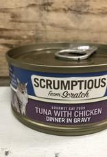 Scrumptious SCRUMPTIOUS CAT TUNA & CHICKEN GRAVY 2.8OZ