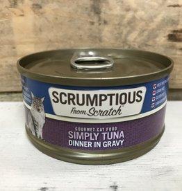 Scrumptious SCRUMPTIOUS CAT TUNA GRAVY 2.8OZ