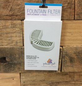 SmartCat 3 CT. FOUNTAIN FILTER REPACEMENTS FOR SS/CERAMIC FOUNTAINS