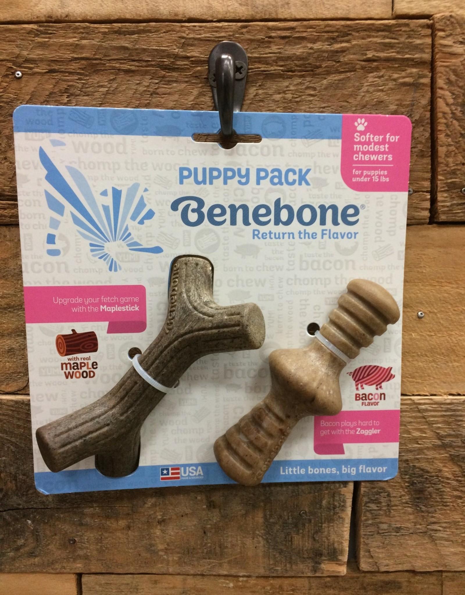 Benebone Benebone Puppy Maplestick/Zaggler 2 pk.