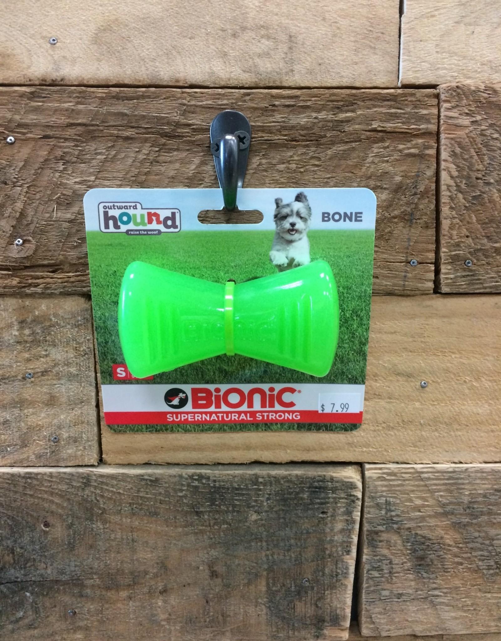 Outward Hound - Bionic Bionic Bone green sm