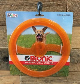 Outward Hound - Bionic Bionic Toss and tug orange