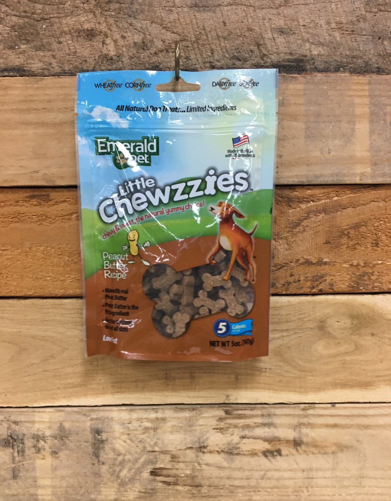 Emerald smart n tasty little chewzzies peanut butter 5oz