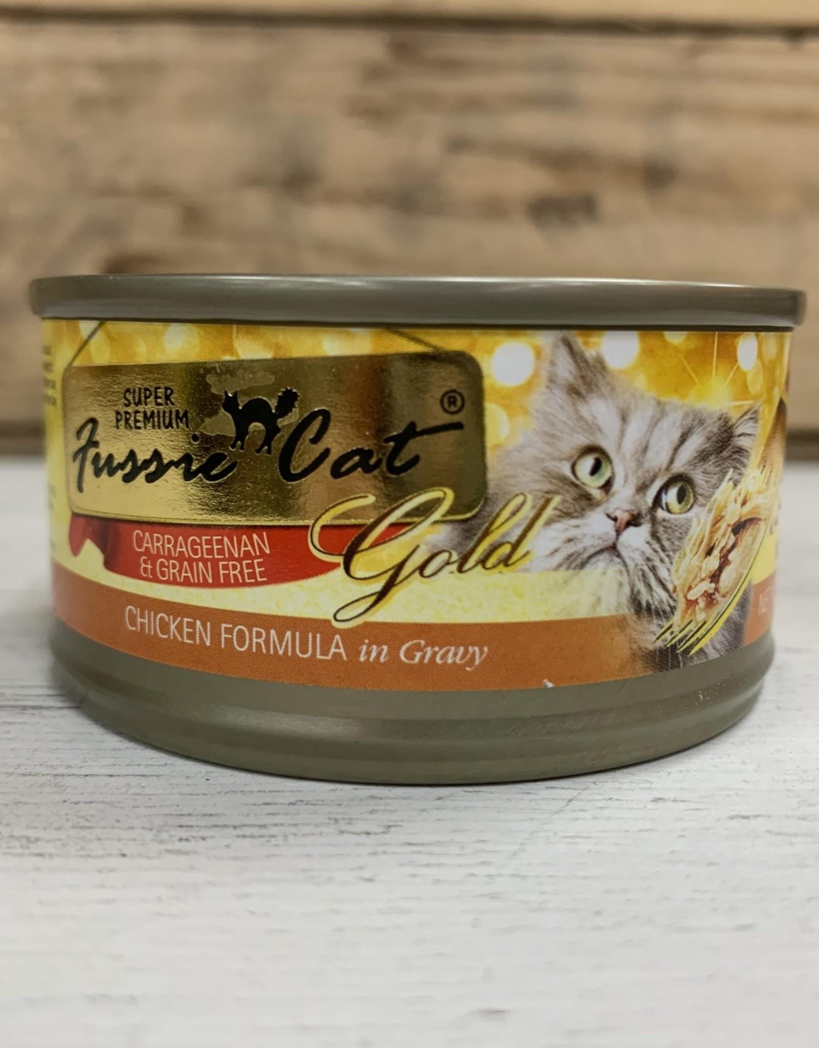Fussie Cat FUSSIE CAT GRAIN FREE CHICKEN & GRAVY 2.82OZ