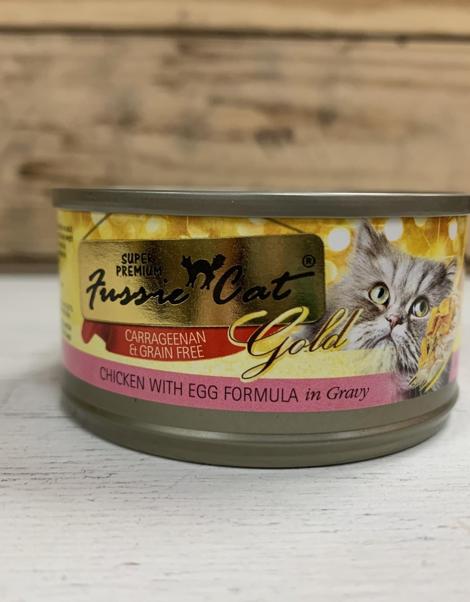 Fussie Cat FUSSIE CAT GRAIN FREE CHICKEN EGG & GRAVY 2.82OZ