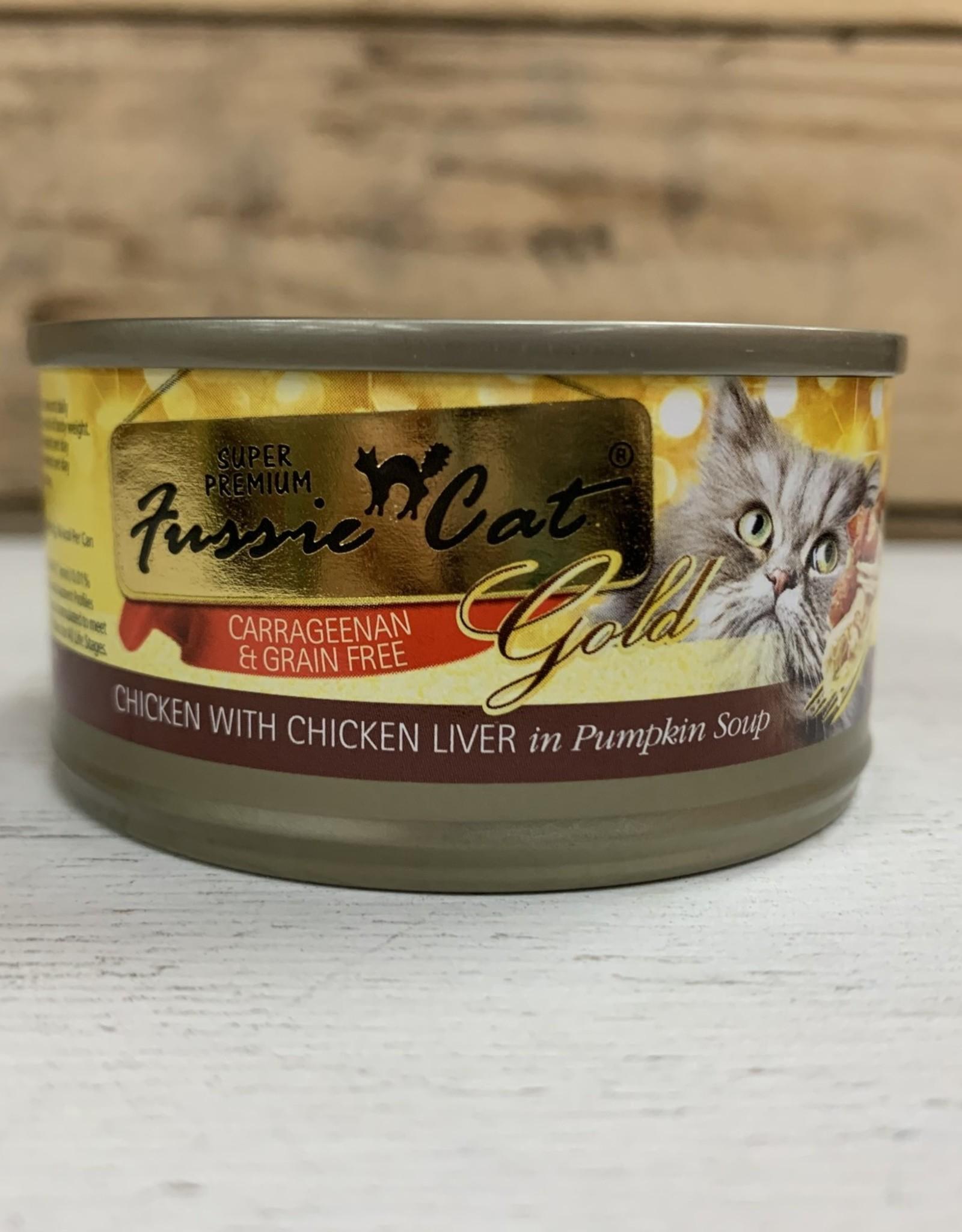 Fussie Cat FUSSIE CAT GRAIN FREE CHICKEN LIVER & PUMPKIN 2.82OZ