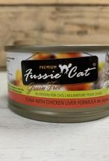 Fussie Cat FUSSIE CAT GRAIN FREE TUNA CHICKEN & LIVER 2.82OZ