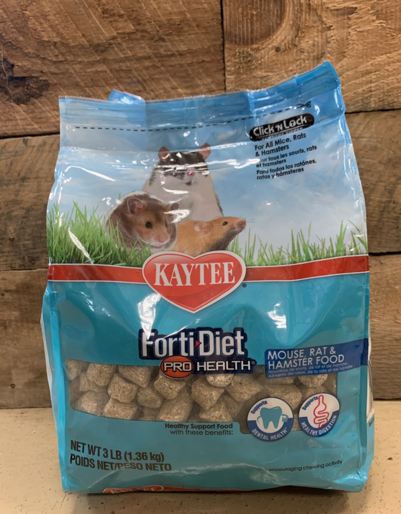 KAYTEE 3lb forti diet prohealth mouse rat