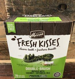 Merrick Pet Products Merrick Fresh Kisses Double Brush Coconut  Extra Small - 78ct Box