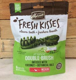 Merrick Pet Products Merrick Fresh Kisses Double Brush Coconut  Medium - Bag