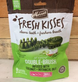 Merrick Pet Products Merrick Fresh Kisses Double Brush Coconut  Small -  Bag