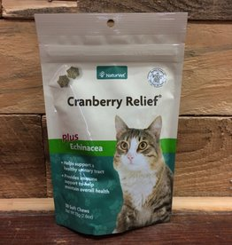 Naturvet 50 TB. CRANBERRY RELIEF PLUS IMMUNE 2-IN-1 SOFT CHEW