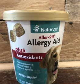 Naturvet 70 CT. ALLERGY AID PLUS ANTIOXIDANTS -SOFT CHEW CUP