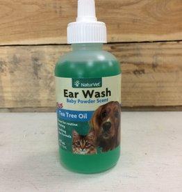 Naturvet EAR WASH W/TEA TREE OIL 4oz