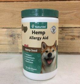 Naturvet hemp allergy aid soft chew 60