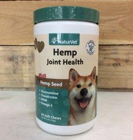 NaturVet hemp joint health soft chew 60 ct