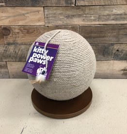 "Prevue Kitty Power Paws Sphere Scratching Post 13"" H"