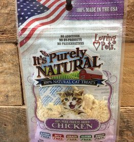 Loving Pets PURRFECTLY NATURAL FREEZE DRIED CAT TREAT -  CHICKEN