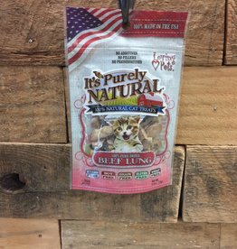 Loving Pets purfectly natural beef lung .6oz treat