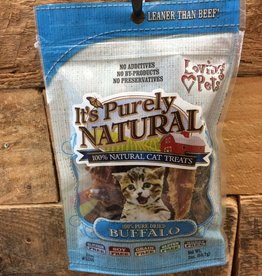 Loving Pets purrely natural buffalo treat 2oz