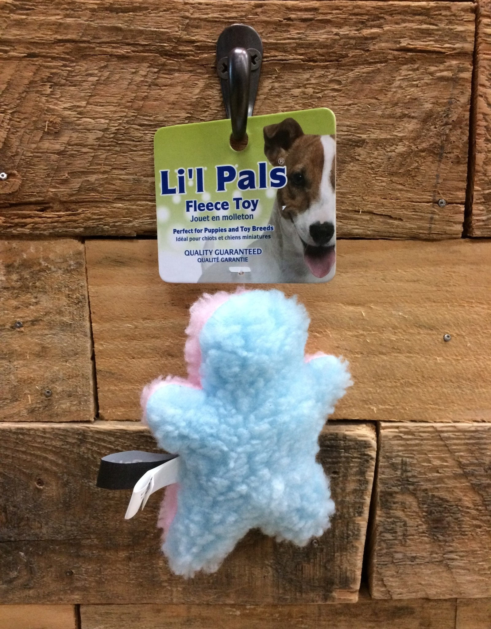 """Coastal Pet Products Coastal Li'l Pals 4.5"""" fleece man"""