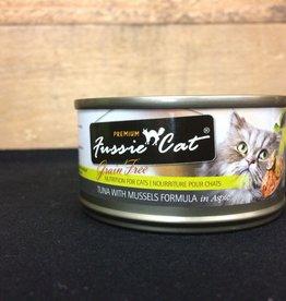 Fussie Cat Fussie Cat Grain Free Tuna & Mussel 2.8 oz