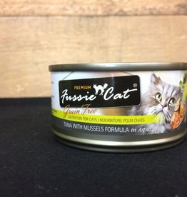 Fussie Cat FUSSIE CAT GRAIN FREE TUNA & MUSSEL 2.82OZ (24 case)