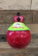 """JOLLY PETS  JOLLY BALL W/HANDLE - RED 6"""""""