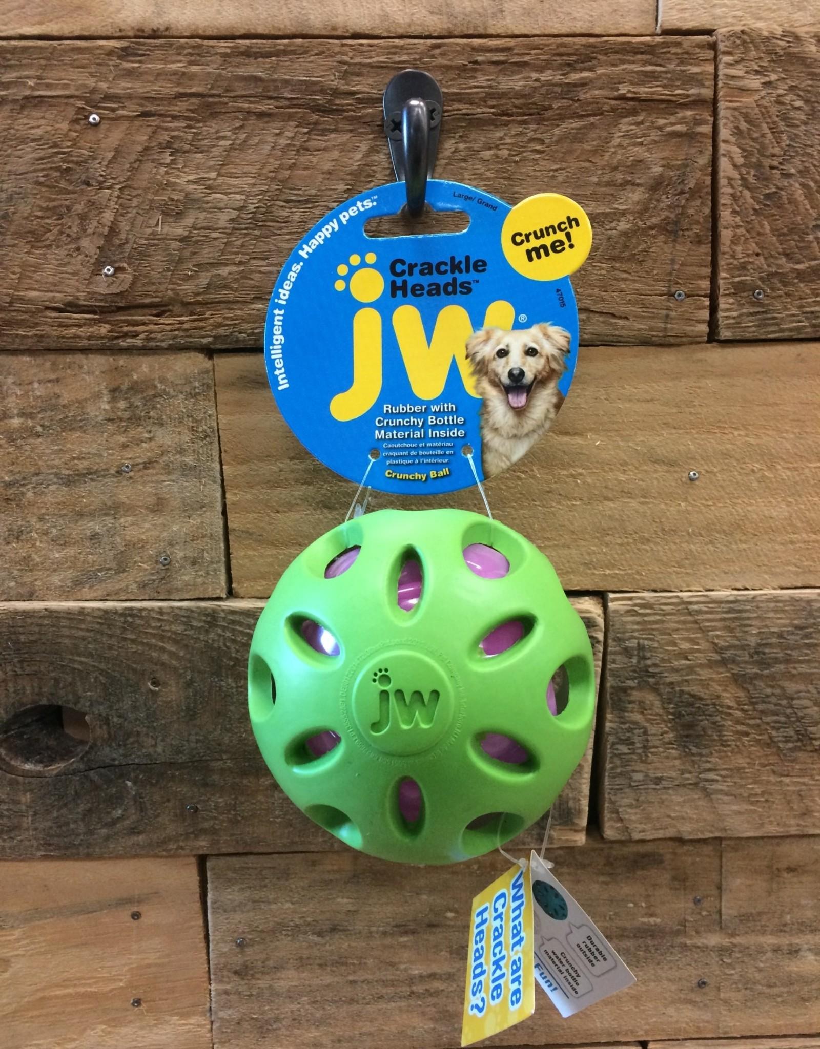 JW PET LG. CRACKLE BALL