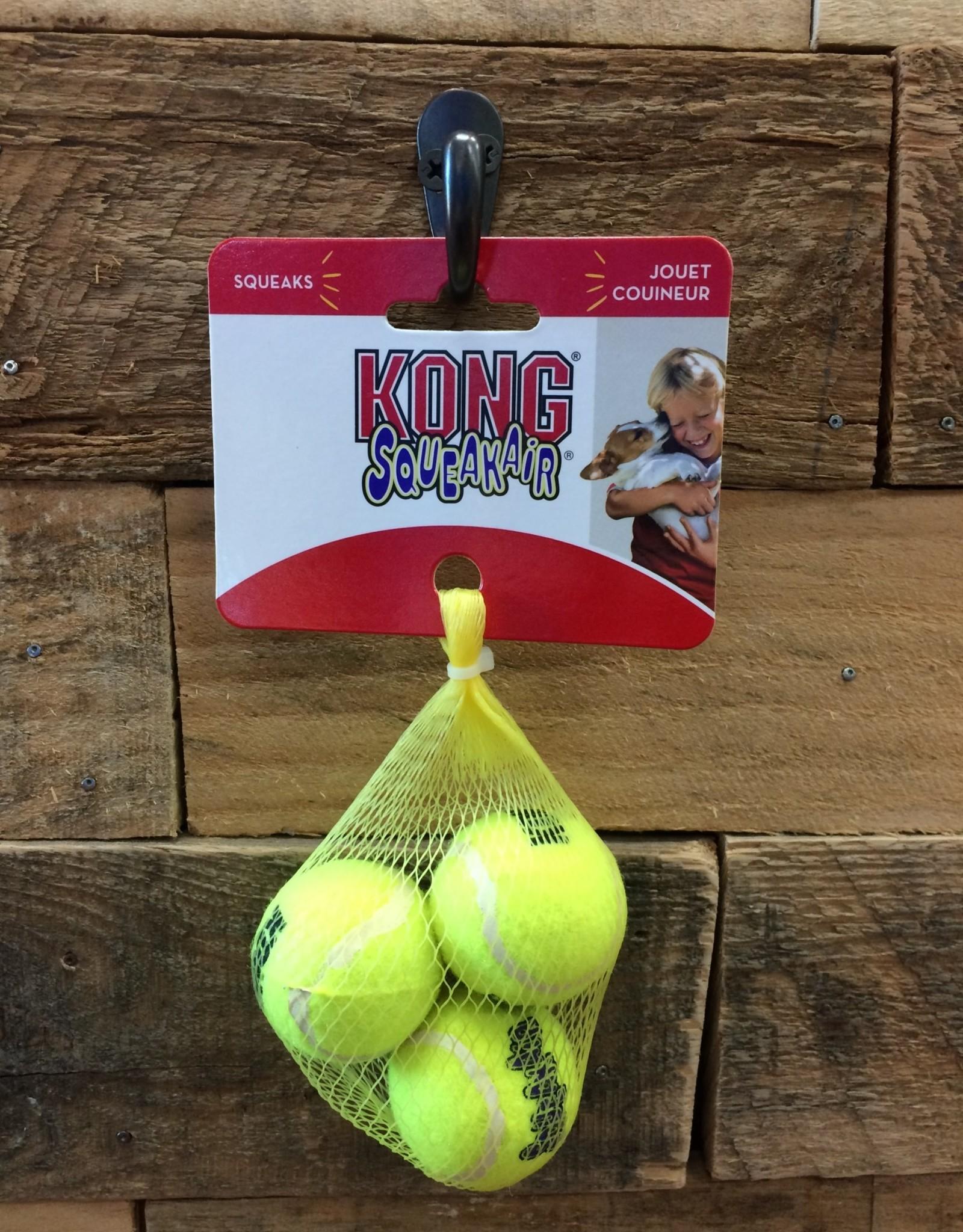 Kong Squeaker Tennis Balls Extra Small 3pack