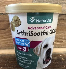 Naturvet ARTHRISOOTHE GOLD LVL 3, SM & MD DOG - SOFT CHEW CUP 70ct