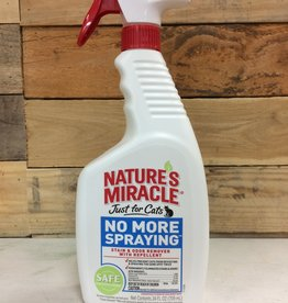 Natures Miracle 24oz just for cats no more spraying
