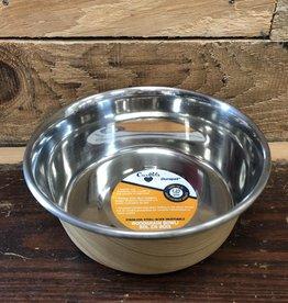 Our Pet DURAPET WOODGRAIN BOWL - LIGHT BROWN 2.25 cup
