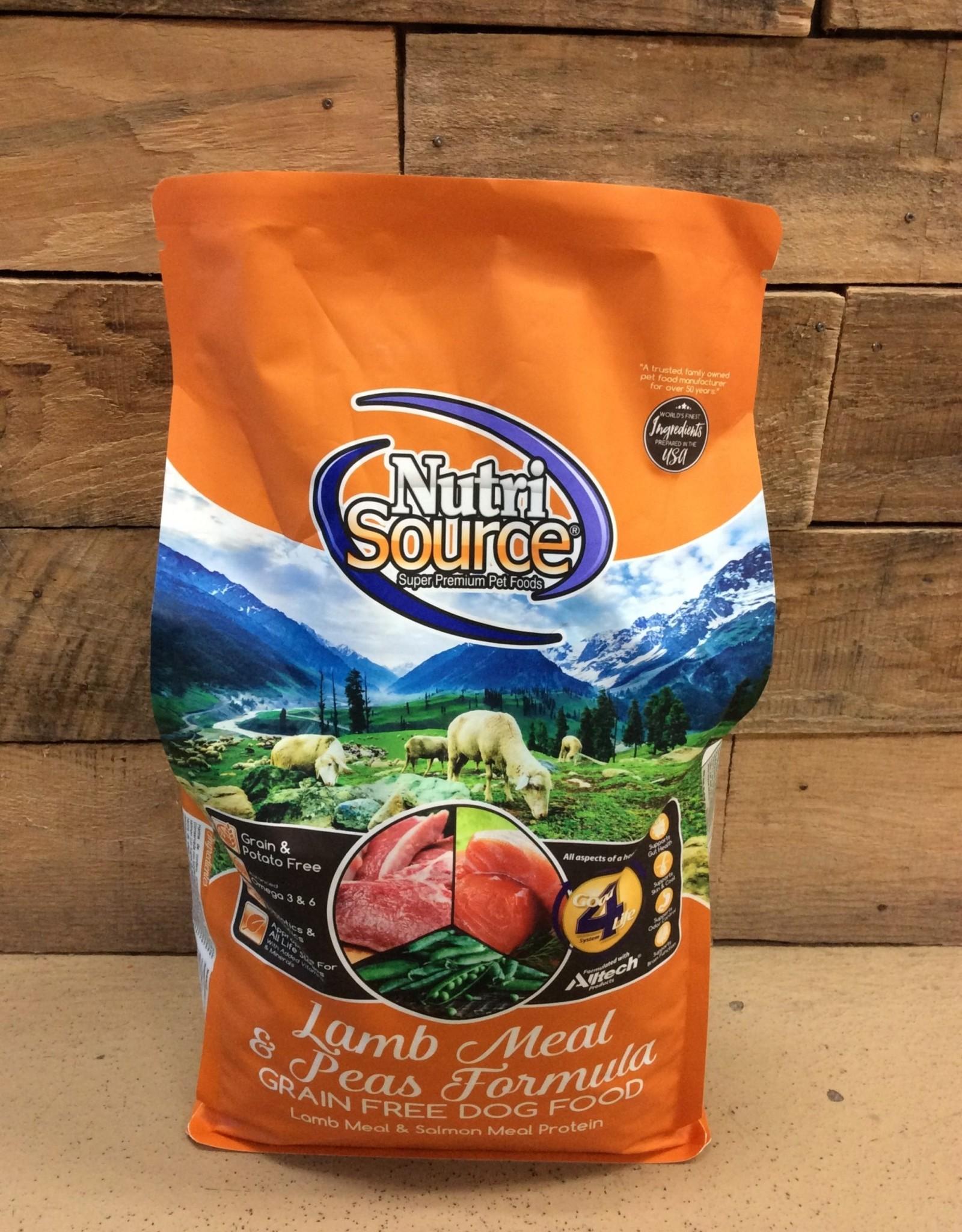 Nutrisource Nutrisource GF Lamb -3 sizes