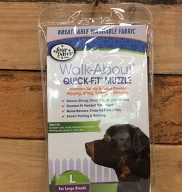 FOUR PAWS QUICK FIT MUZZLE SIZE LARGE