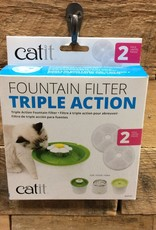 Hagen Catit 2.0 Triple Action Wtr Softener 2pk