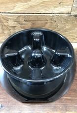 Hagen Dogit Go Slow Anti-Gulping Bowl, Black, Small
