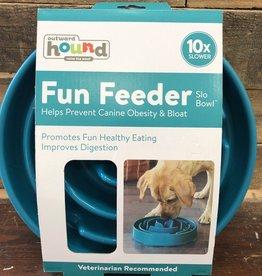 OUTWARD HOUND fun feeder TEAL