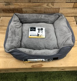 TALL TAILS DOG BOLSTER BED CHARCOAL LARGE