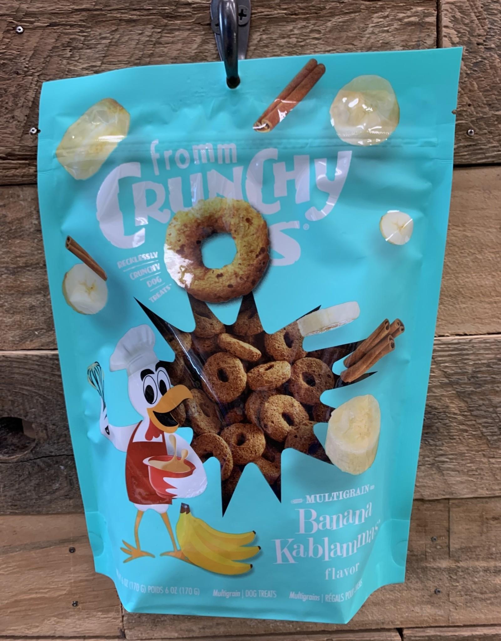 Fromm Family Foods Fromm Crunchy O's bannana kablammas treat