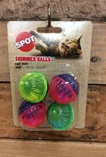Ethical Shimmer Rattle Ball 4pk.