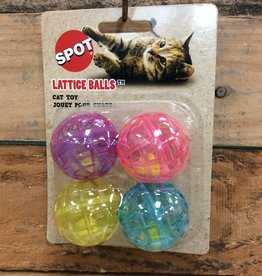 ETHICAL 4 PK. LATTICE BALLS