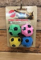 ETHICAL 4 PK. SPONGE SOCCER BALLS