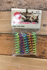 ETHICAL 10 PK. ASSORTED COLOR SPRINGS - thin