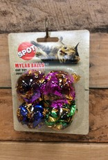 ETHICAL 4 PK. MYLAR BALLS - 1.5 IN.