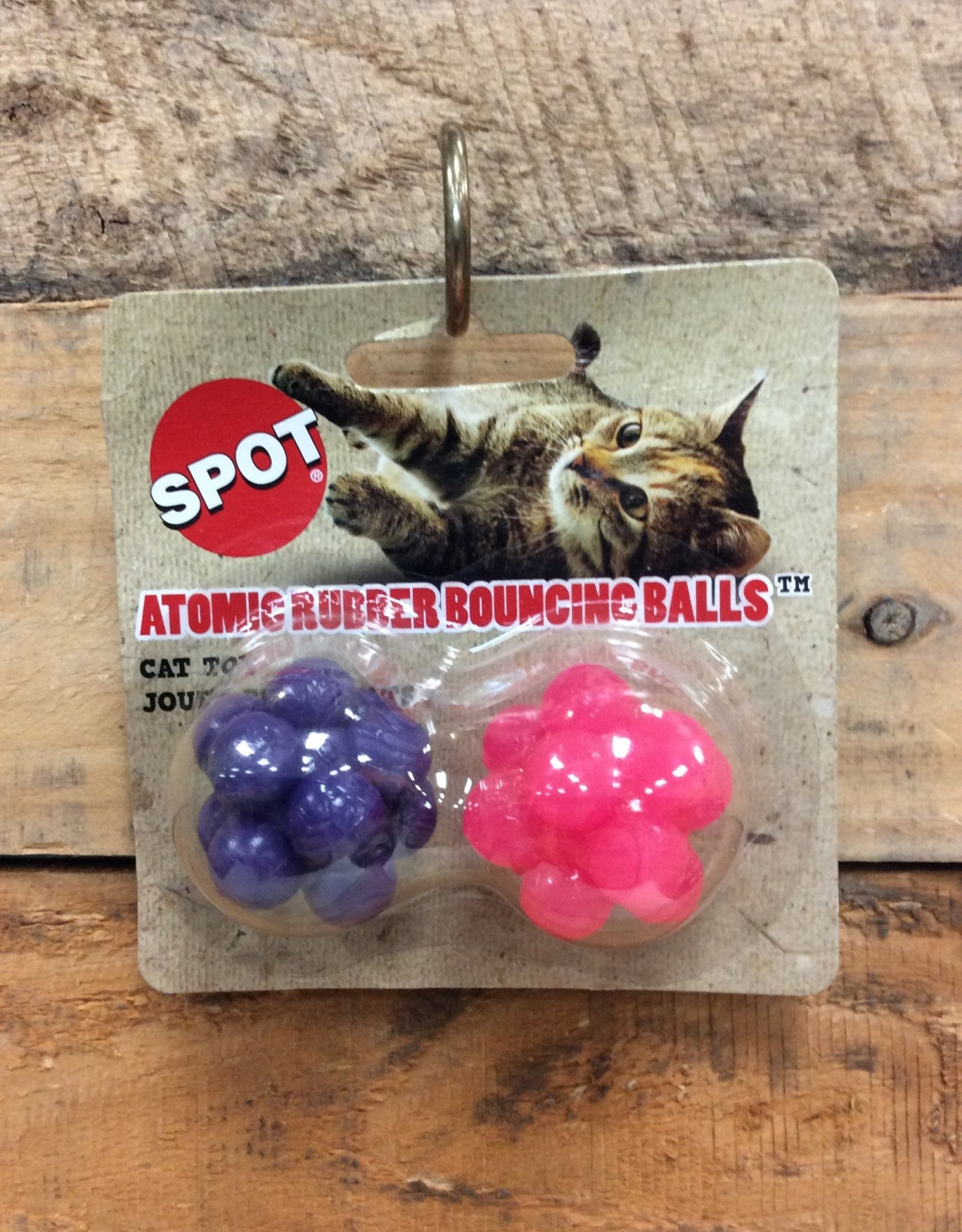 ETHICAL 2 PK. ATOMIC RUBBER BOUNCING BALLS