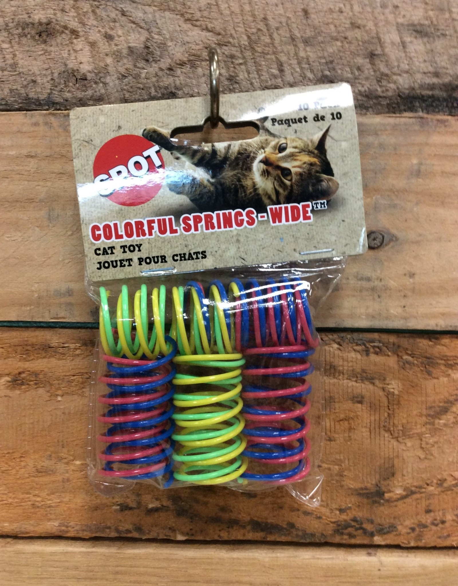 ETHICAL 10 PK. ASSORTED COLOR SPRINGS - WIDE