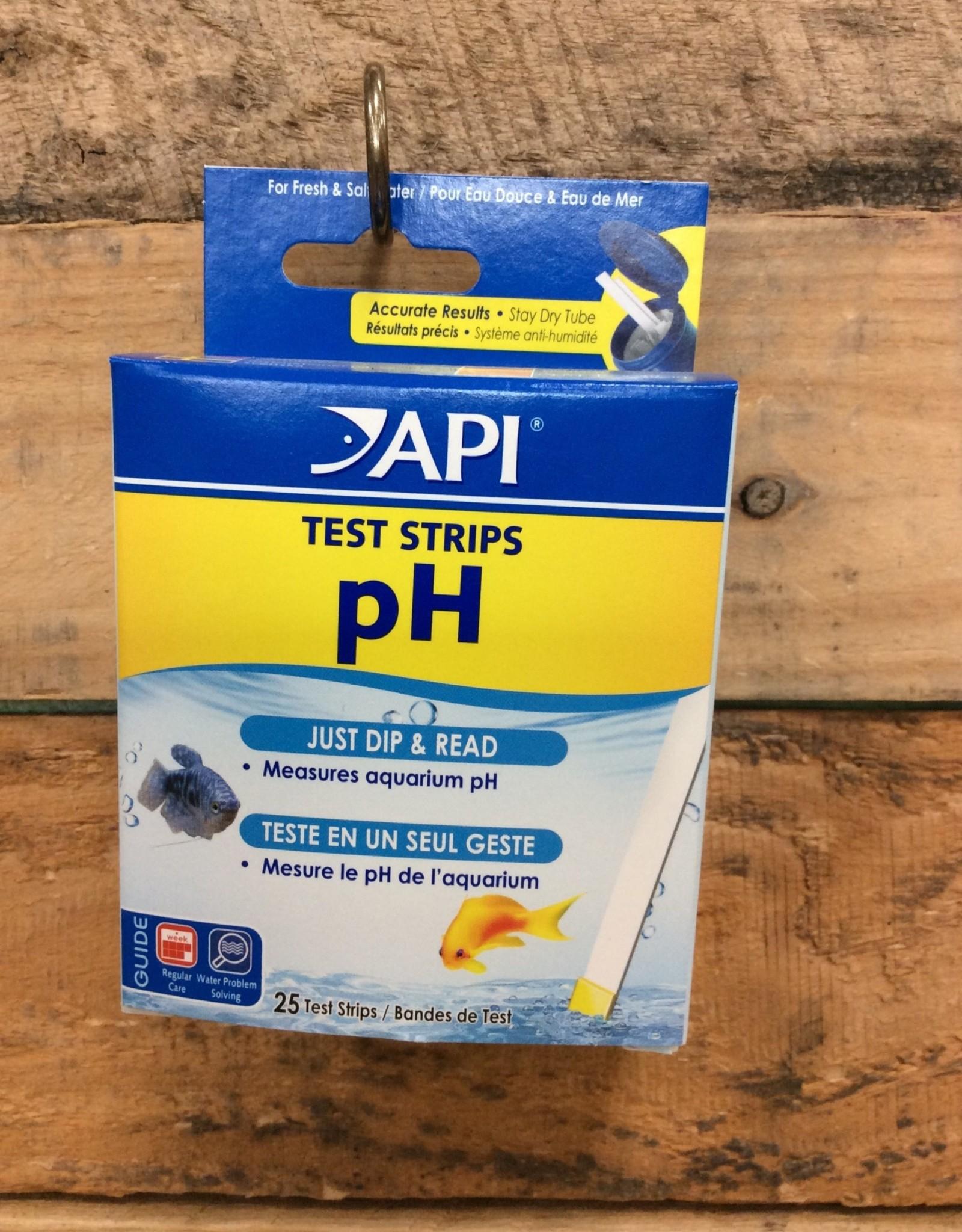 Api - Mars Fish Care API 25ct. PH Aquarium Test Strips
